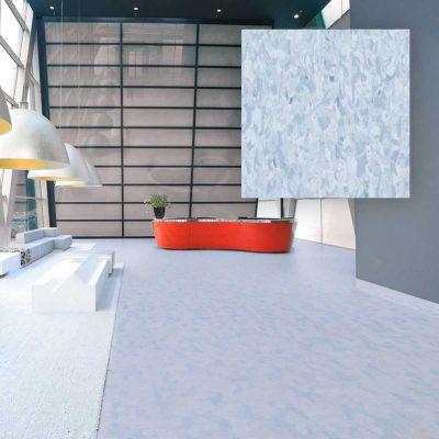 Moderan Svijetlo Plavi PVC Pod za stanove