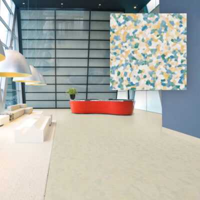 PVC Pod IQ Granit Multicolor Light