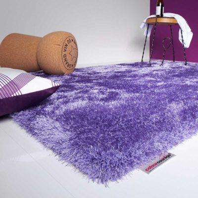 tepihland ljubičasti tepih colour courage čupavi tepih