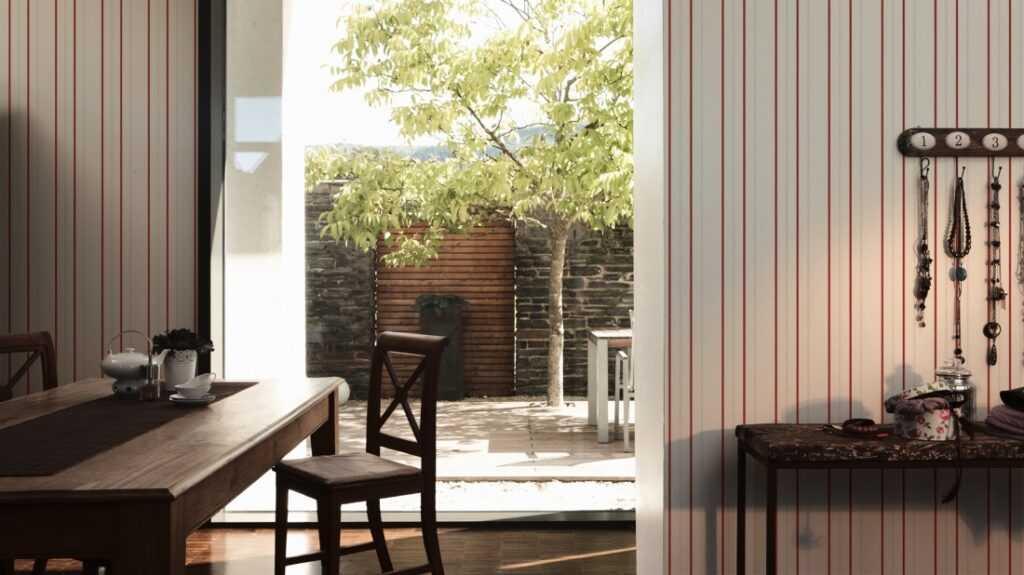 Elegantne Moderne Pruga Tapete za stanove