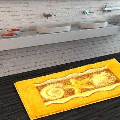 Najprodavaniji Otporan Žuti Otirač za Kupaonice