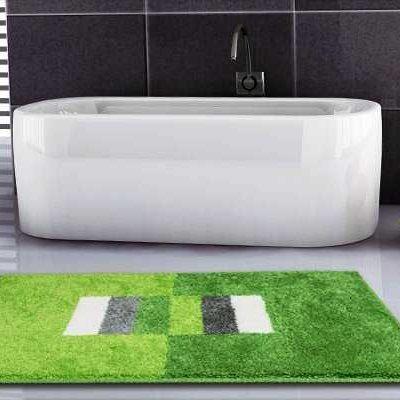 Najprodavaniji Otporan Zeleni Otirač za Kupaonice