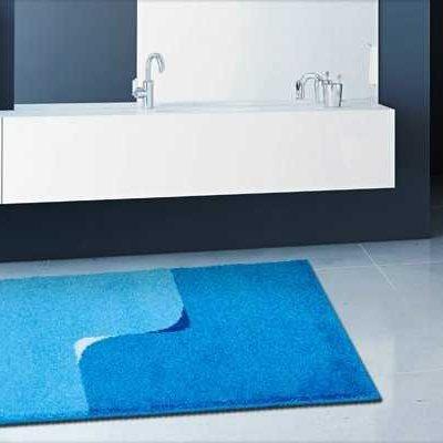 Najprodavaniji Otporan Plavi Otirač za Kupaonice