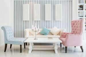 chic zidne tapete za osvježavajuće ljeto tepihlad
