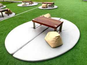 kreativne ideje za umjetnu travu u domu