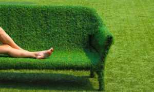 tepihland kreativno umjetna trava fotelja